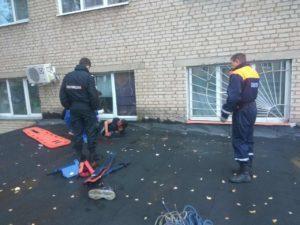 Спасатели «Мособлпожспас» оказали помощь пострадавшему мужчине