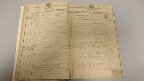 Метрическая книга Казанской церкви с. Смолино 1895 год